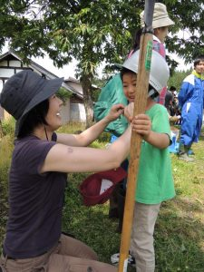 山形県では子ども用のヘルメットも貸し出ししてくれます