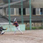 武田選手のバッティング!