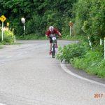 バイク後半途中、ペダルの勢いは止まらずに疾走。 さすが、蔵王温泉へ練習しにいった甲斐がありましたね。
